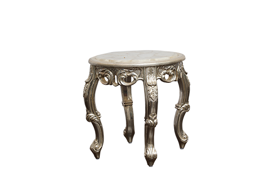 Tea table with white quartz